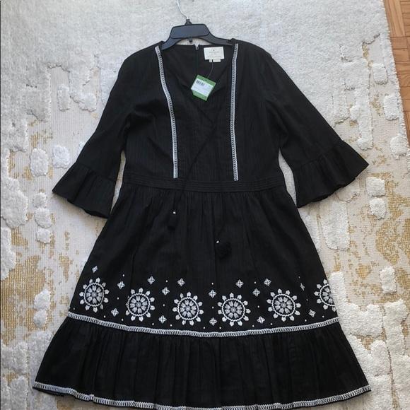 kate spade Dresses & Skirts - Black ikat style Kate Spade dress, size 12